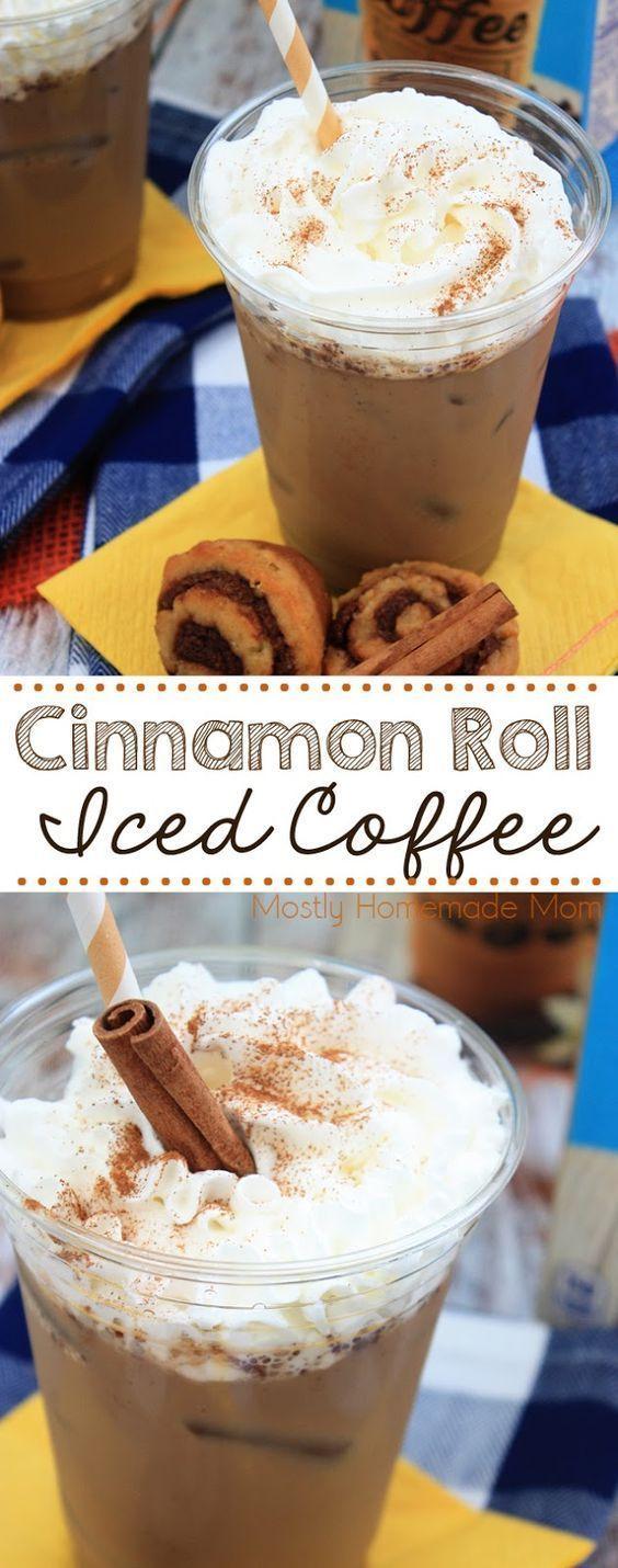 Cinnamon Roll Iced Coffee