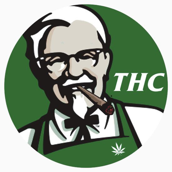 4ea4ee3c54 Redesigned KFC logo perfect for every stoner and fried chicken lover!  Description from tshirtgifter.com. I searched for this on bing.com/images
