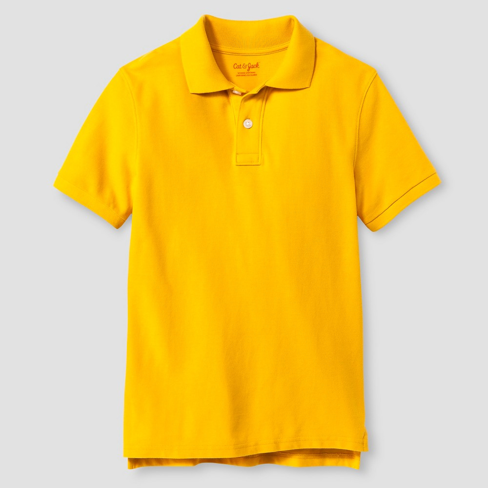 0928ef1fb Boys' Pique Polo - Cat & Jack, Boy's, Size: Medium, Gold   Products ...