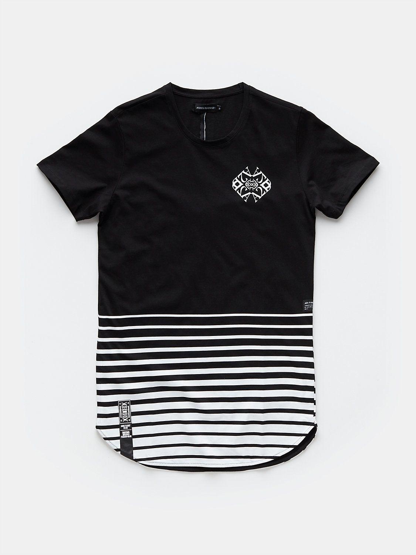 print T-shirt black  8abbea05cc1d3