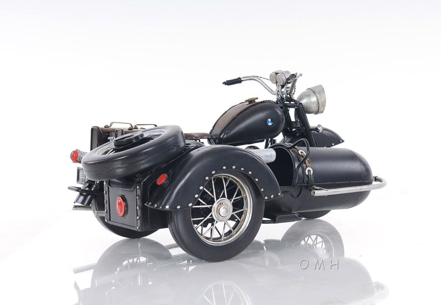 BMW R75 Military 1930s Motorcycle w/ Sidecar Metal Model 11 ...