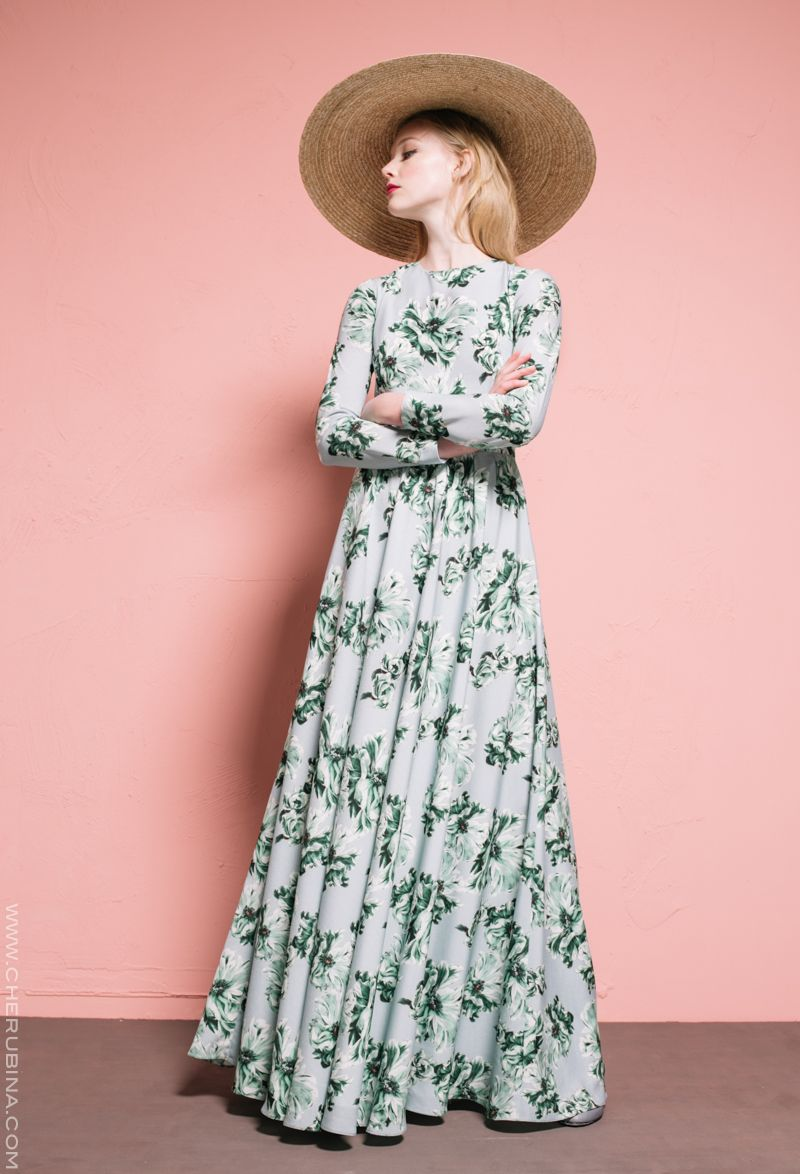 Janice | Cherubina #invitadaperfecta #vestido #sombrero #bodas ...