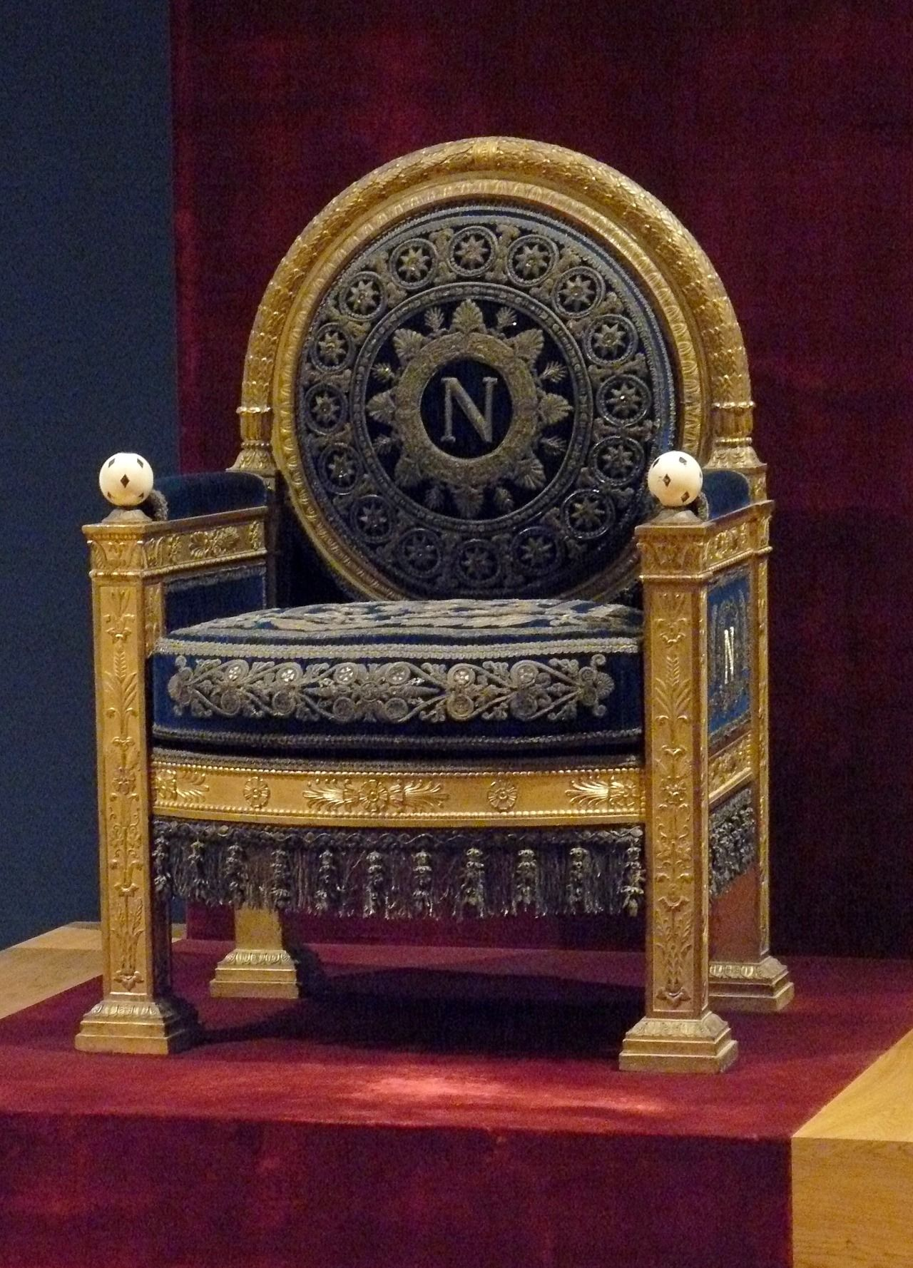 Throne Room Tuileries Palace Paris France This Is The