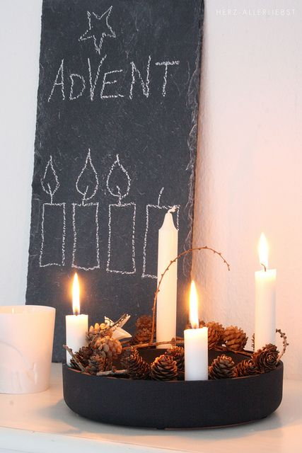 Dritter advent by herz allerliebst christmas weihnachten advent und deko weihnachten - Dekoration advent ...