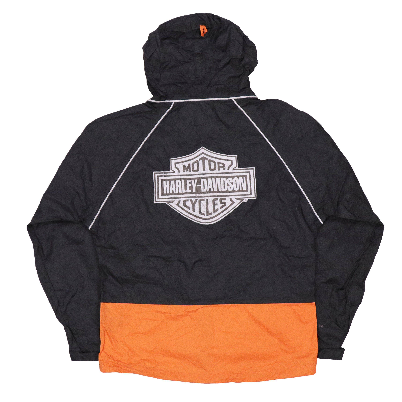 Vintage Harley Davidson Windbreaker Waterproof Jacket