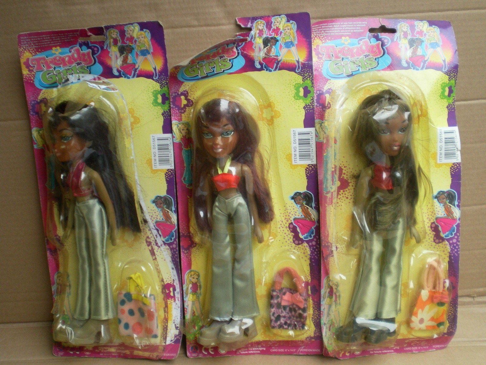 Light Plastic Bratz Clone Fashion 10 Doll Bundle Job Lot Damaged From 90s Ebay Dolls Vintage Dolls 10 Things
