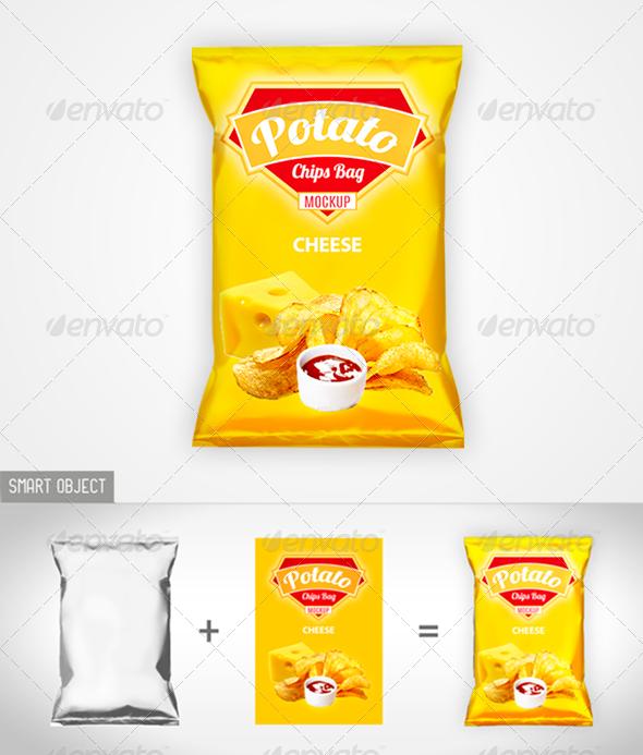 Download Chips Bag Mock Up Disenos De Unas