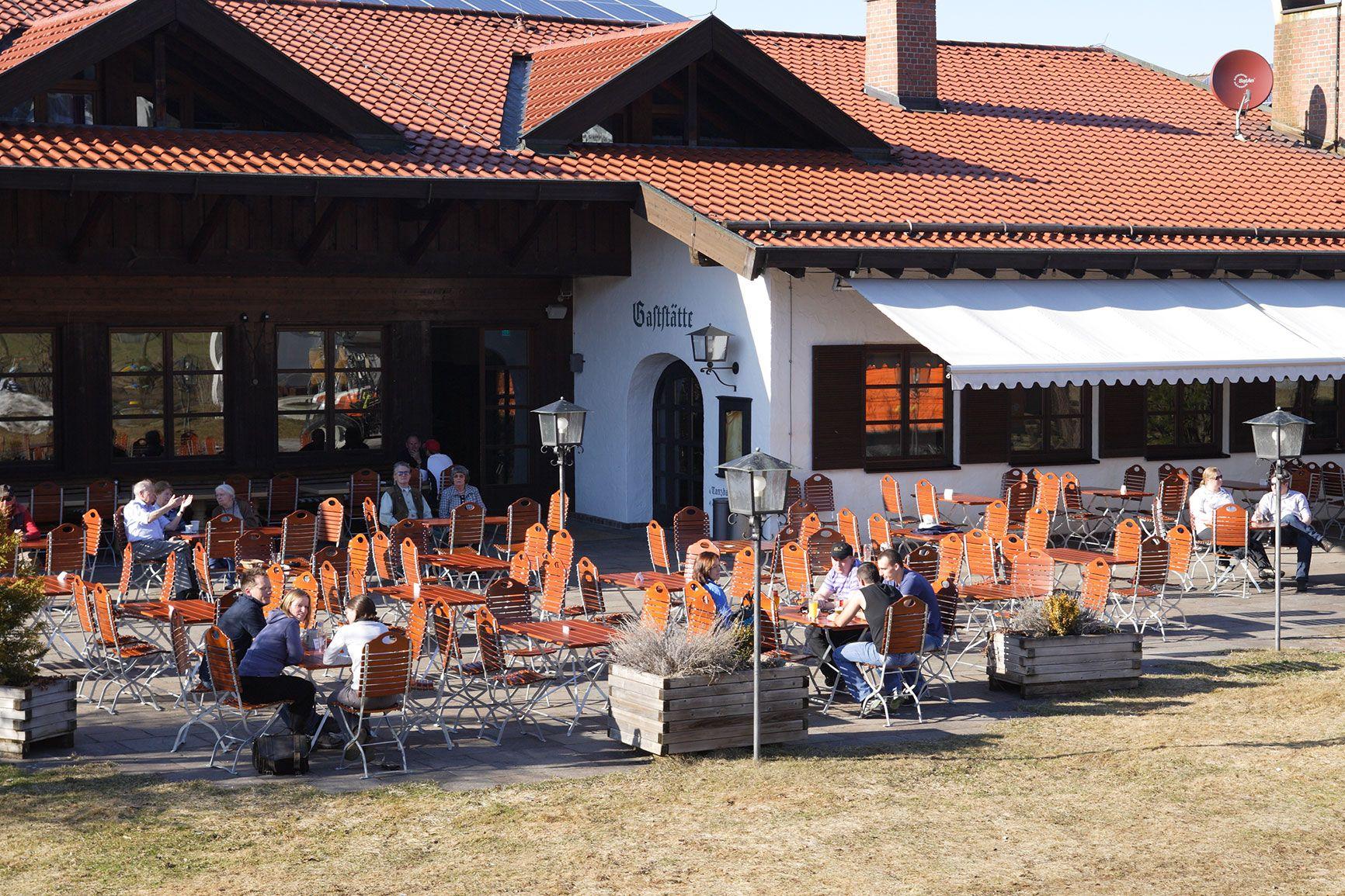Schlossbrauhaus Fruher Einmal Haus Des Gastes In 2020 Brauerei Bayrische Kuche Biergarten