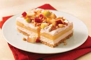 NILLA WAFER Caramel Apple Dessert has all the makings of a tasty Halloween treat.