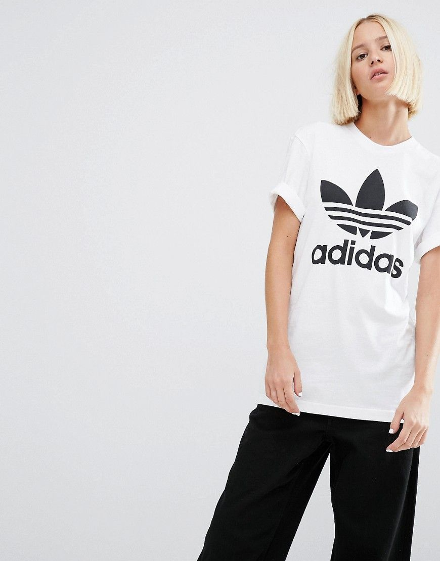 adidas Linear Tee | Classic t shirts, Sporty style, Mens tops