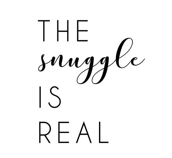 Image result for the snuggle is real