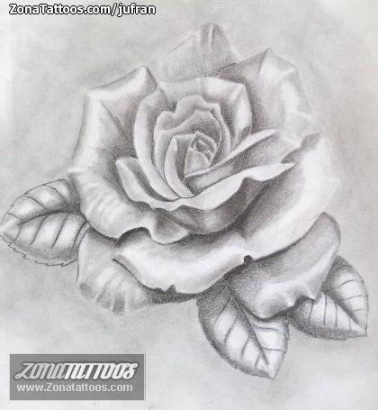 Diseño De Rosas Flores Proyectos Que Intentar Tatuajes Boceto