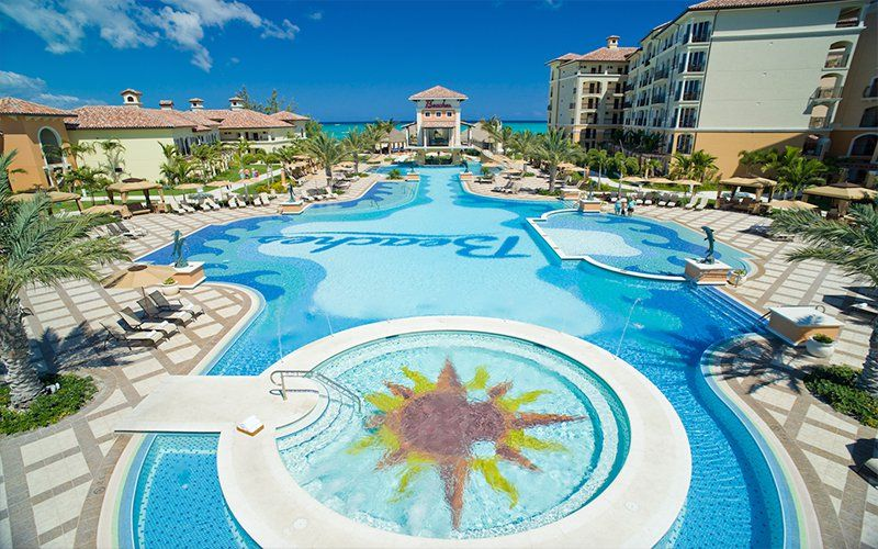 The Cool Pool Of The Week Beaches Turks Caicos Resort Villages