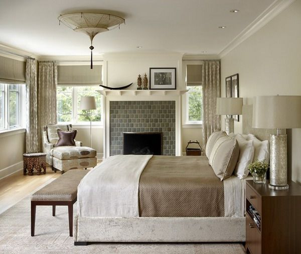 Delightful Eclectic Bedroom Design In Neutral Color Scheme Bedroom Interior Design  Ideas And Concept