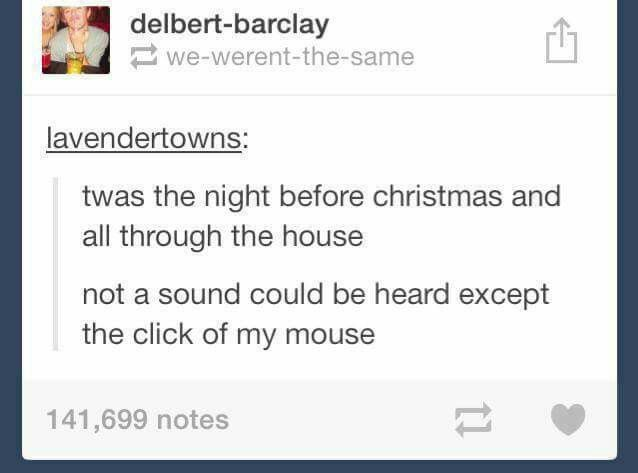 Not a sound could be heard except the click of my mouse