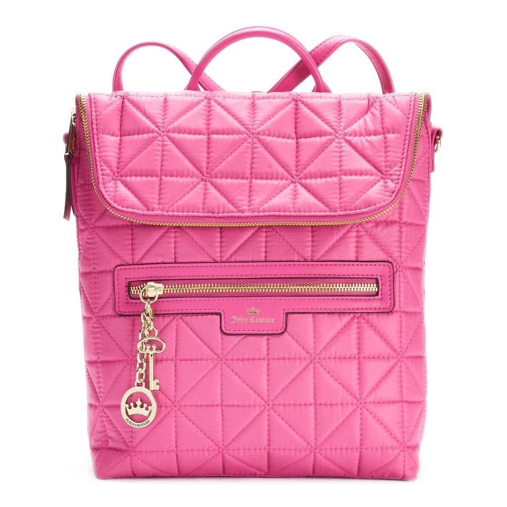76d6f94c94 Juicy Couture Crown Jewel Quilted Backpack | Products | Juicy ...