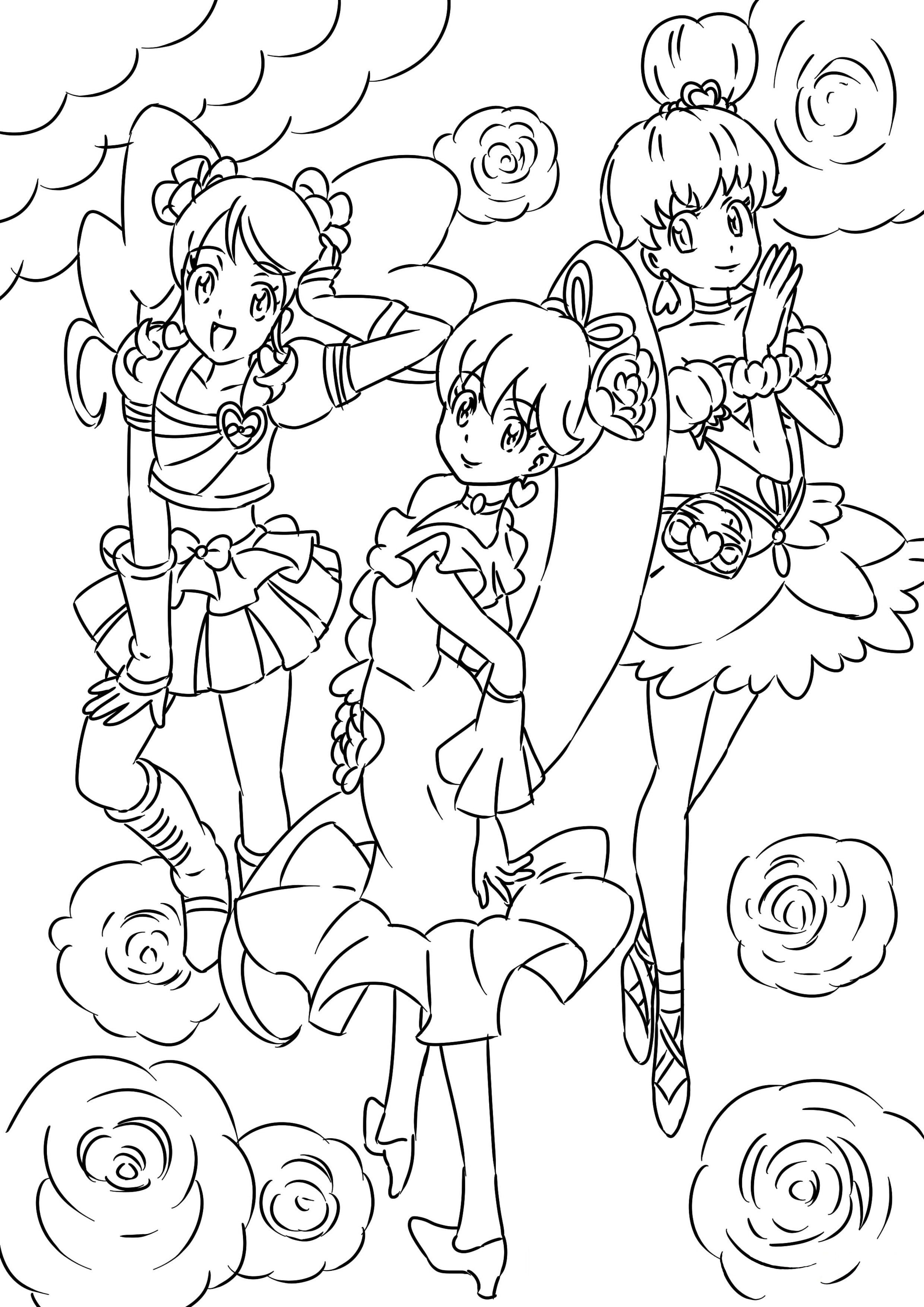 Happiness charge Precure | Happiness charge | Pinterest | Adult ...