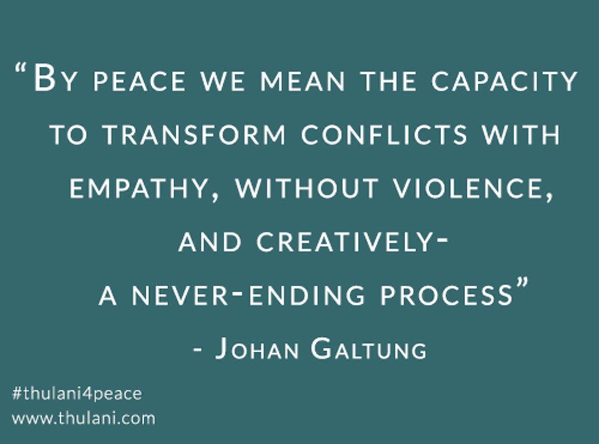 Recognizing A Season for Nonviolence 2015! #thulani4peace
