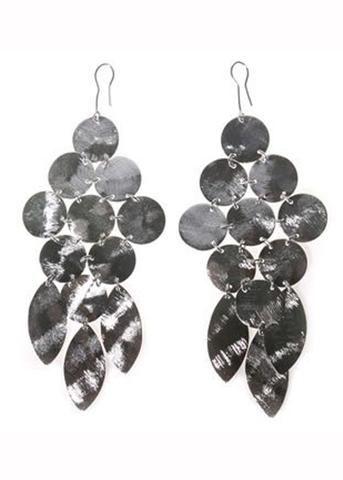 Chandelier Earrings in Silver