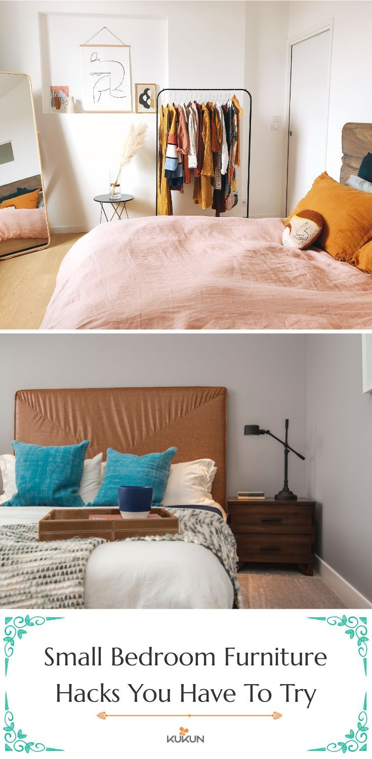 7 Clever Small Bedroom Furniture Arrangement Hacks
