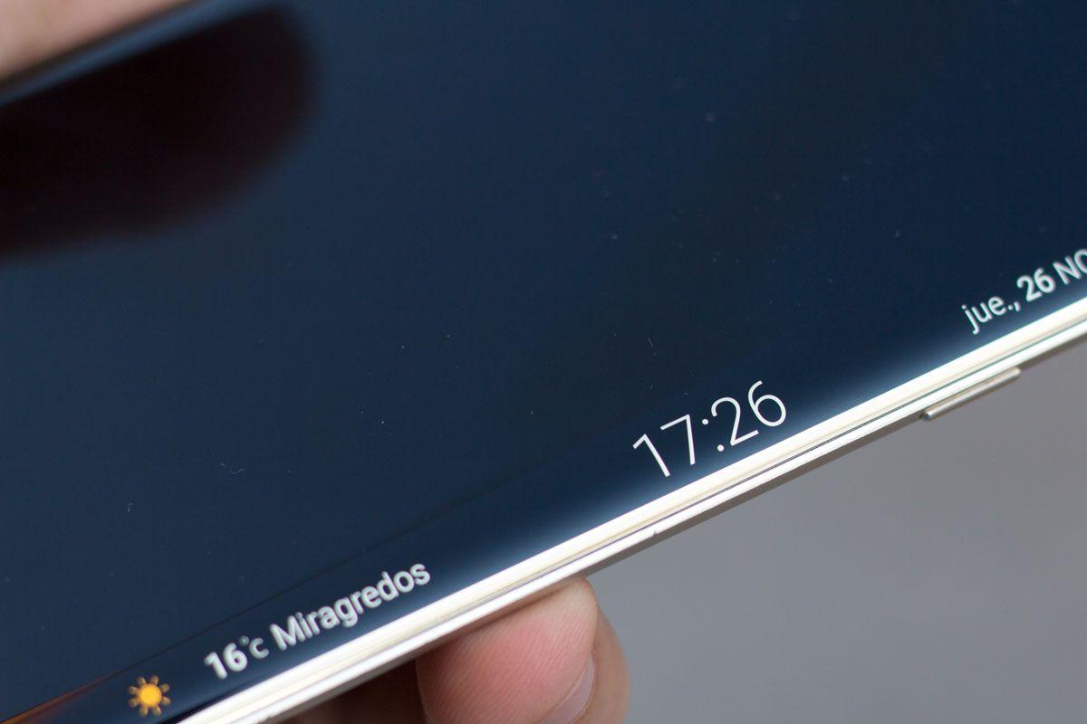 Conoce sobre Así será la curva del Samsung Galaxy S7 Edge y sus nuevas funciones