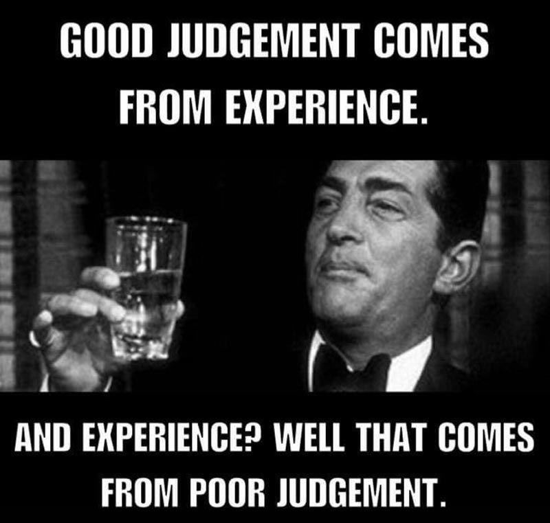 Good Judgement   Odd Stuff Magazine