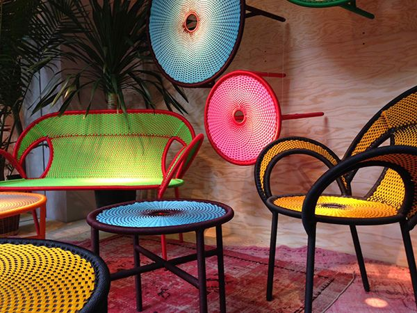 Marvelous Banjooli Collection: Colorful Outdoor Furniture For Moroso