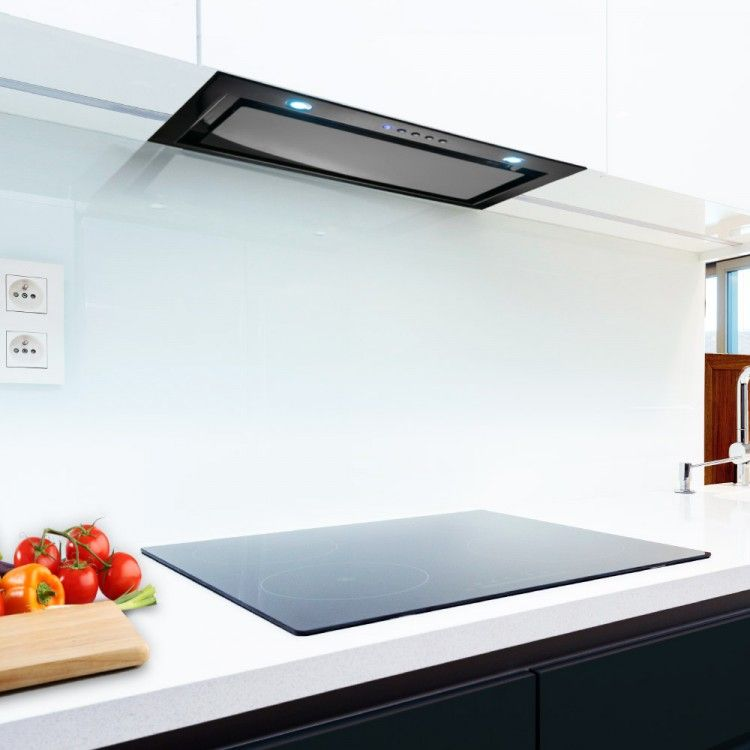 Luxair La 72 Can 72cm Canopy Extractor Hood With Led Lights