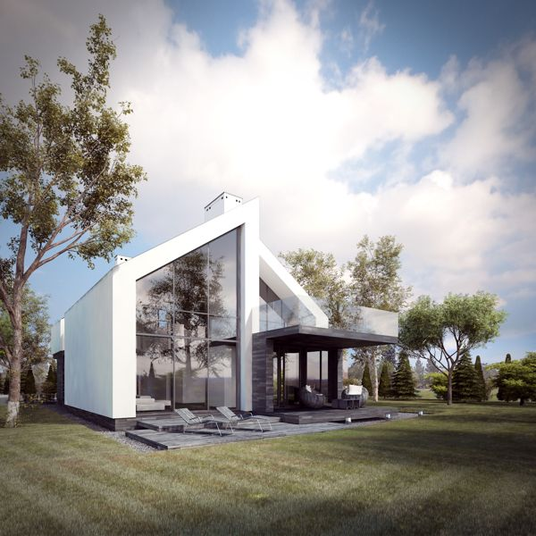 3xhouse by Ewa Gawron, via Behance is part of Architecture house -