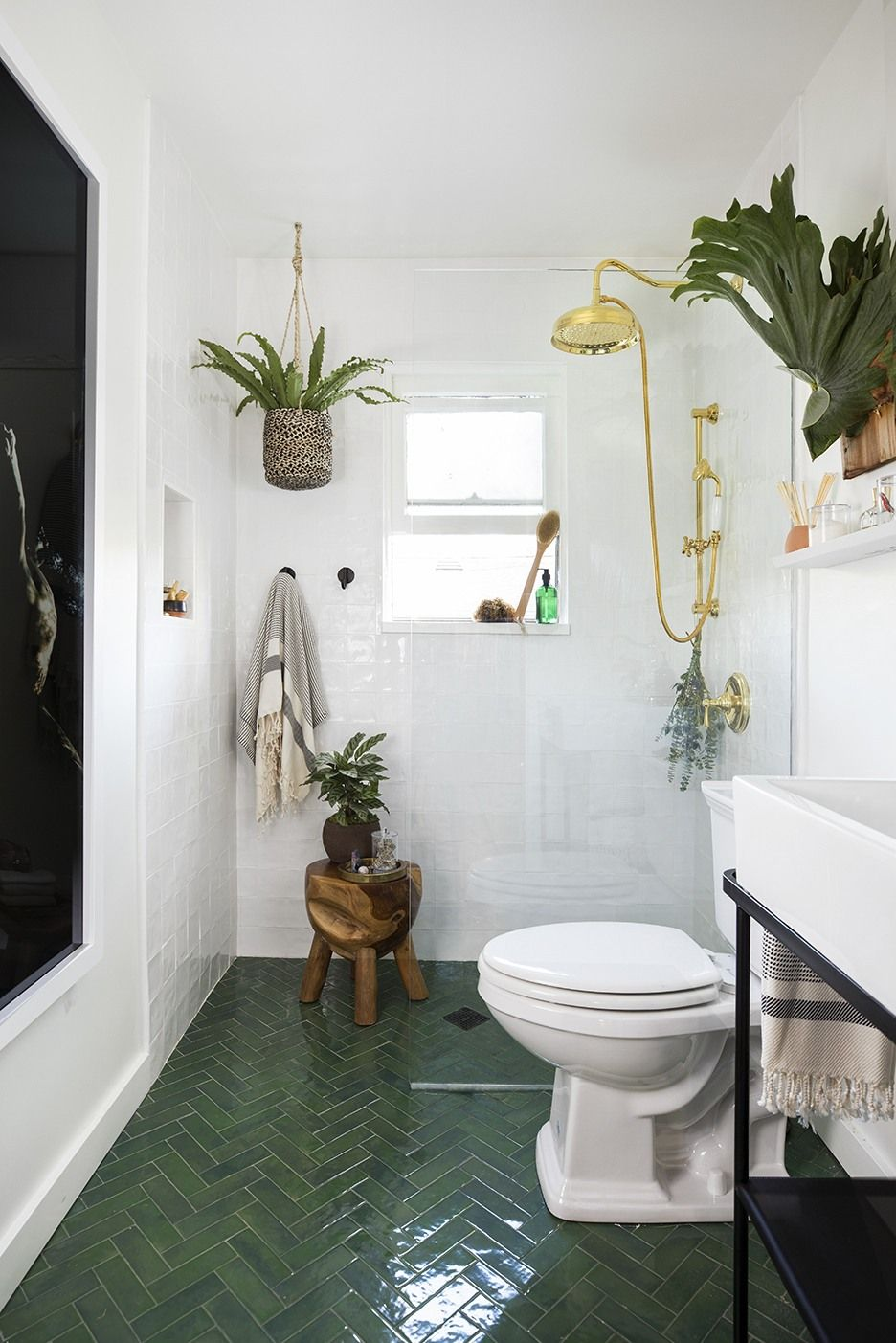 Photo of A Few Decor Swaps Turned This 5-by-7 Bathroom Into a Hammam Spa