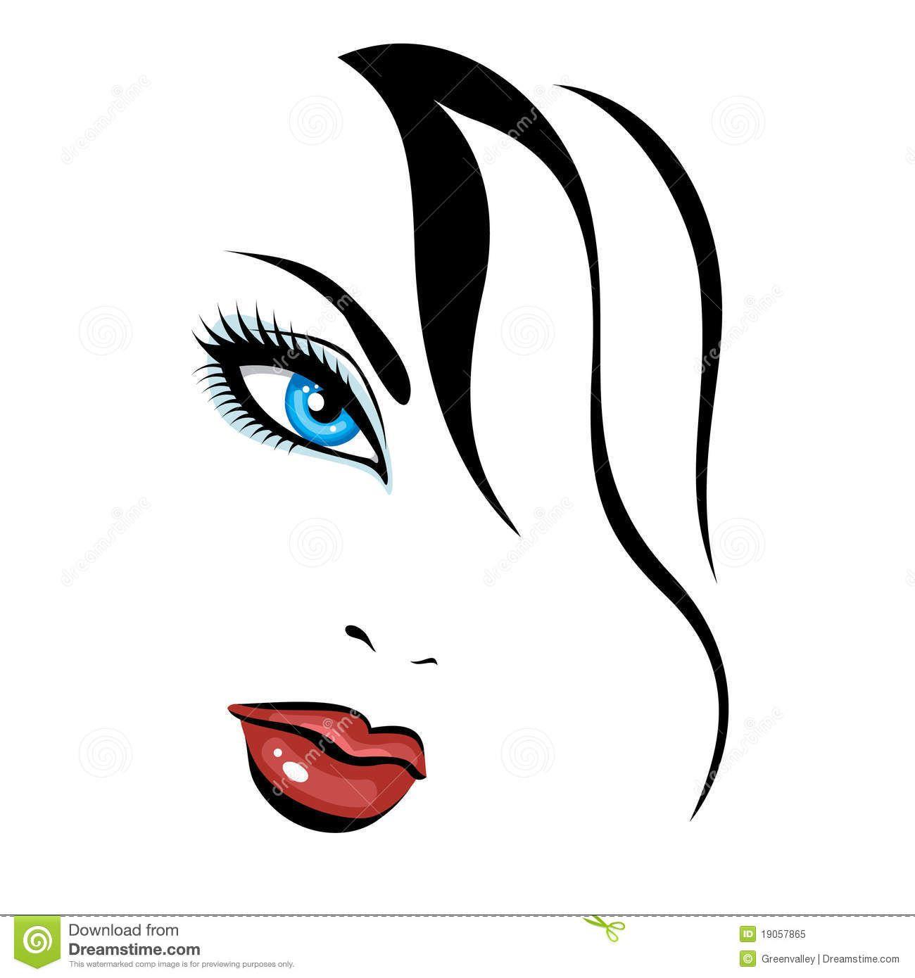 beautiful girl face royalty free stock photo image