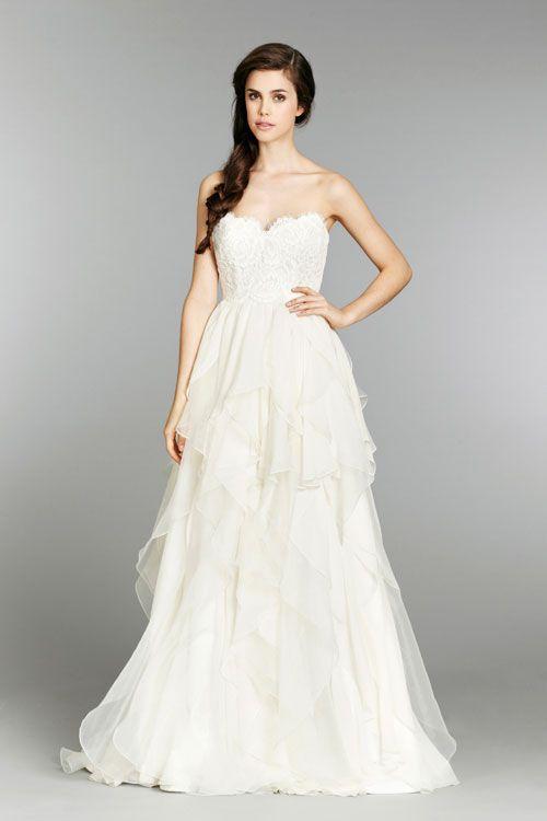 37636f826 Hayley Paige Kira, $2,550 Size: 14 | New (Un-Altered) Wedding Dresses # wedding #mybigday
