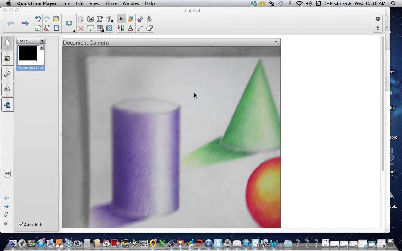 monochromatic color pencil shading