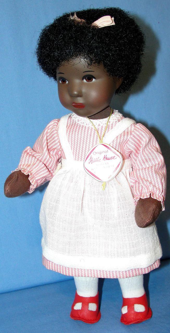 Rare Kathe Kruse Black Daumlinchen Bess Doll Mint in Box!
