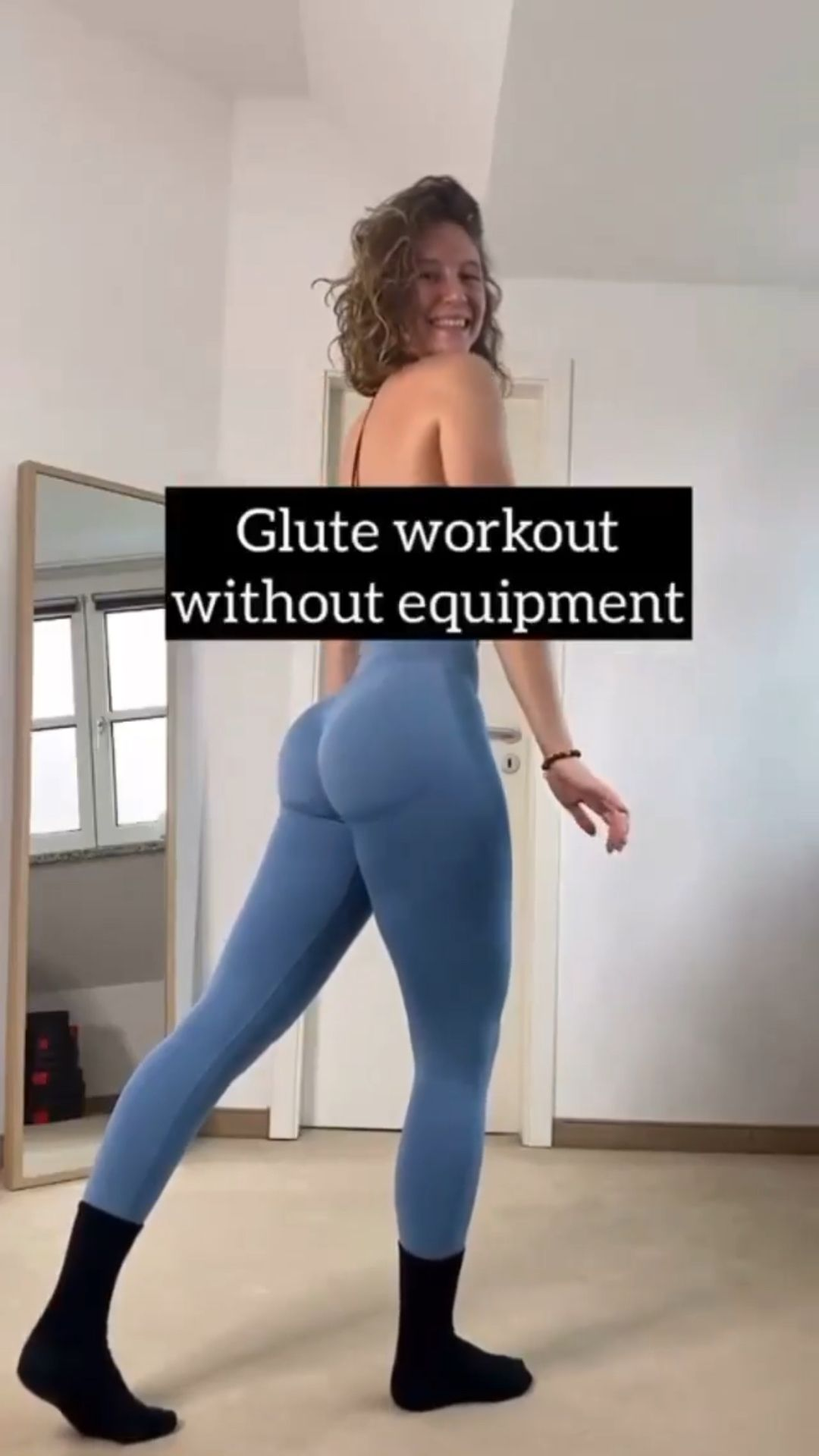 Glute Workout without Equipment!🍑