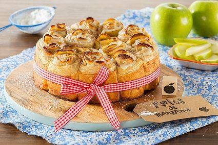 Te compartimos la receta para preparar Roles de manzana , cocina con inspiración con Recetas Nestlé.