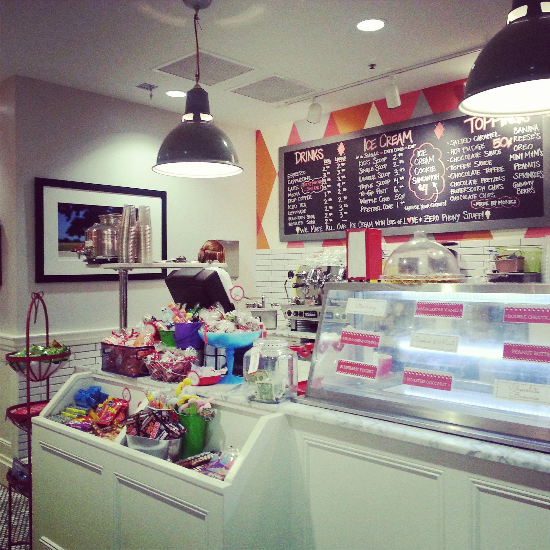 Churn Ice Cream Parlor In Phoenix, AZ // Via