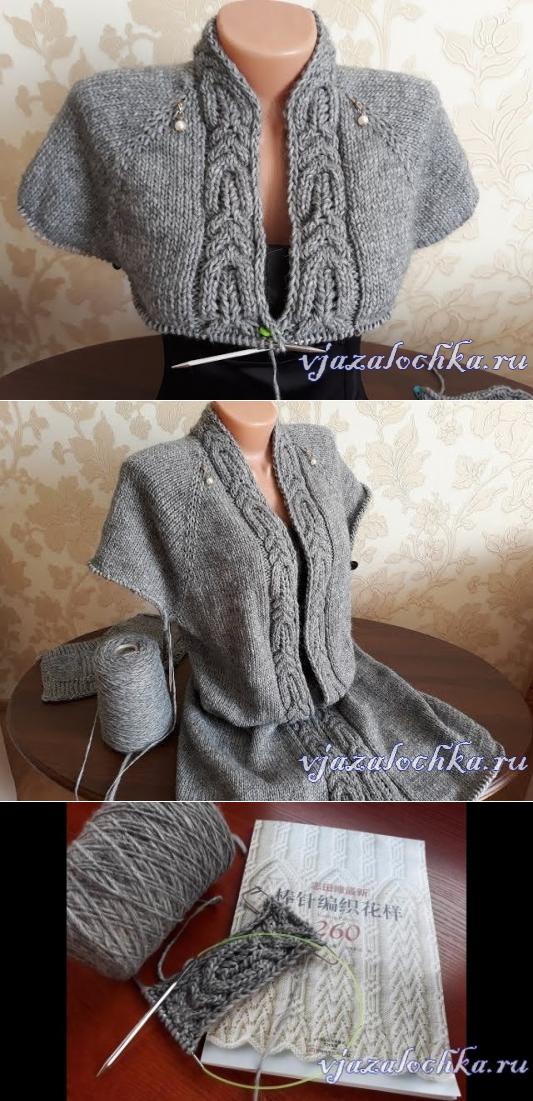вязание одежда спицами вязание круговое вязание свитер