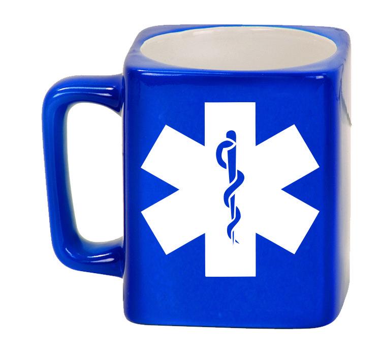 Ceramic Mugs - Square 8oz - EMS