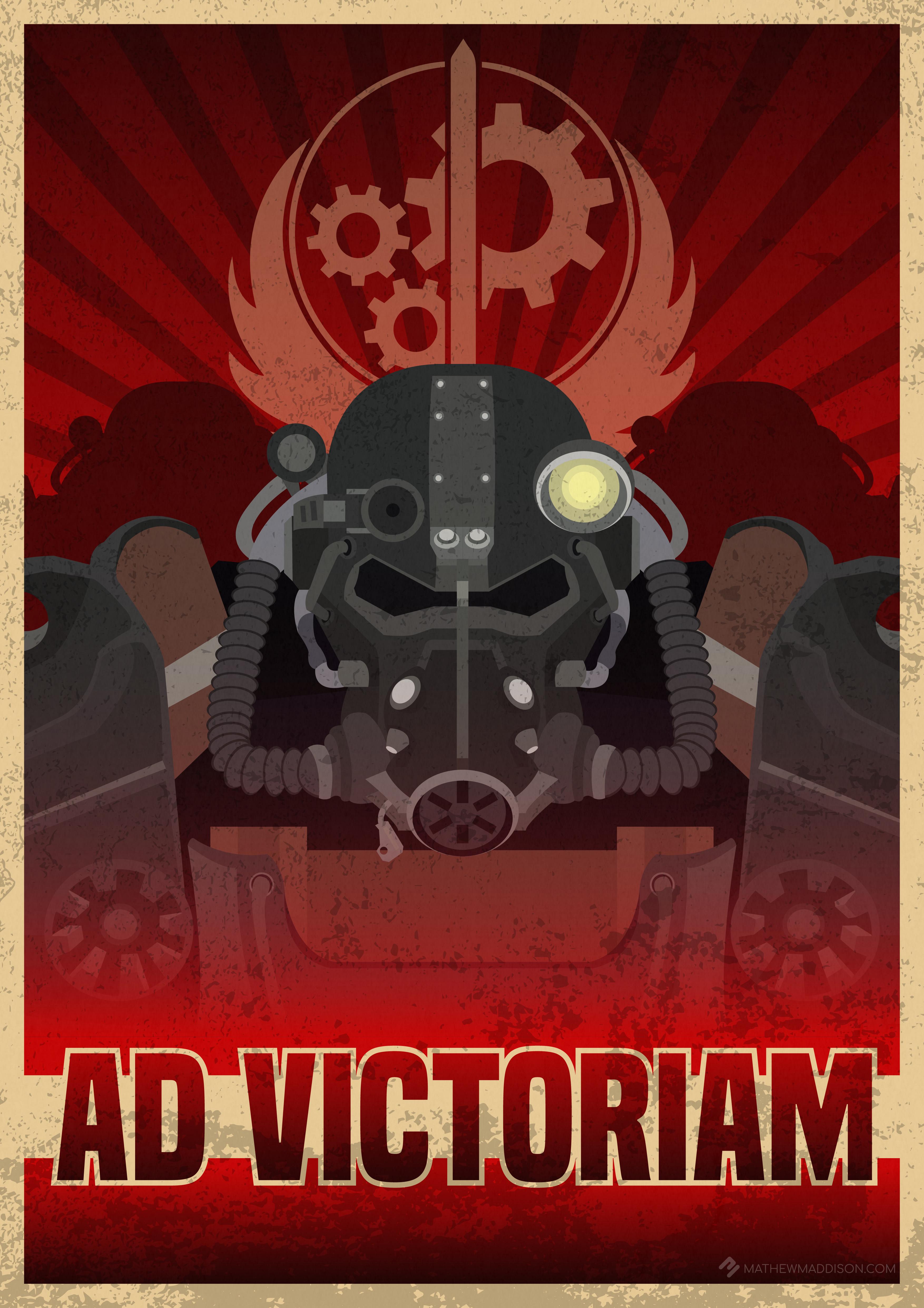 Brotherhood Of Steel Fallout Wallpaper
