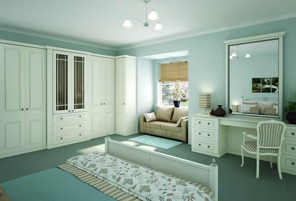 classichomify classic  homify  aqua blue bedrooms