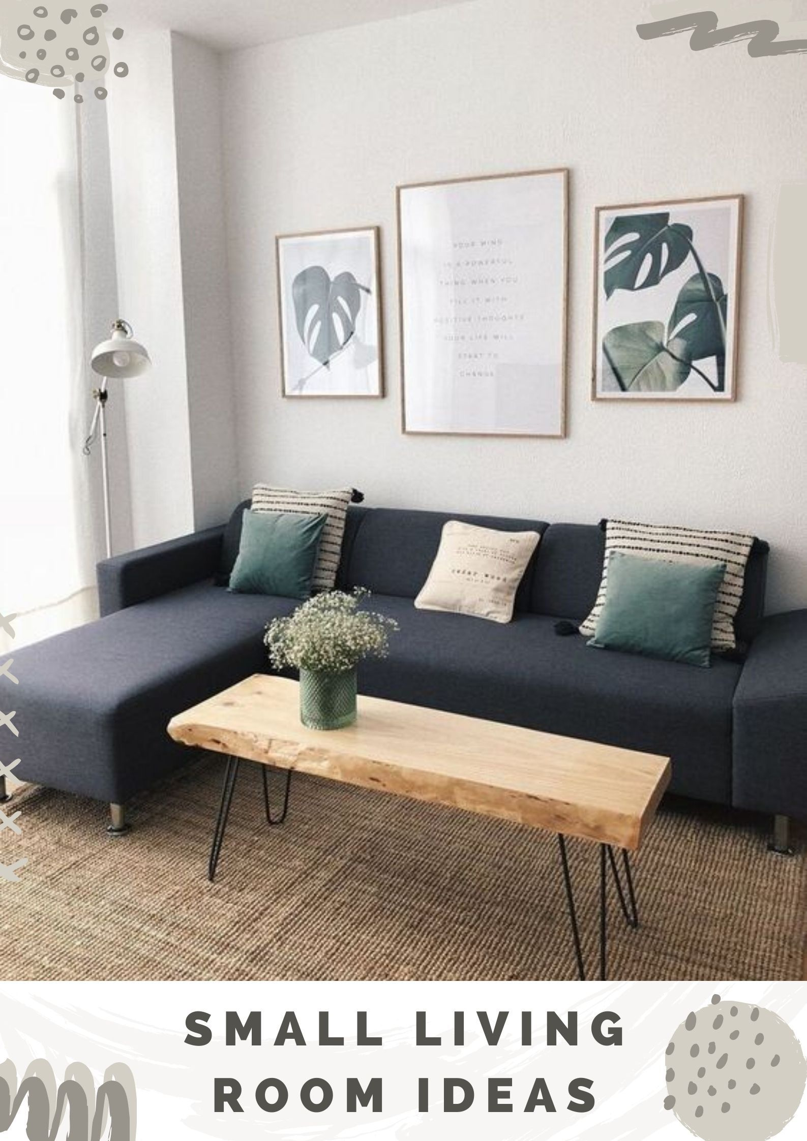Dazzling Small Living Room Ideas For Your Adorable Space Salas