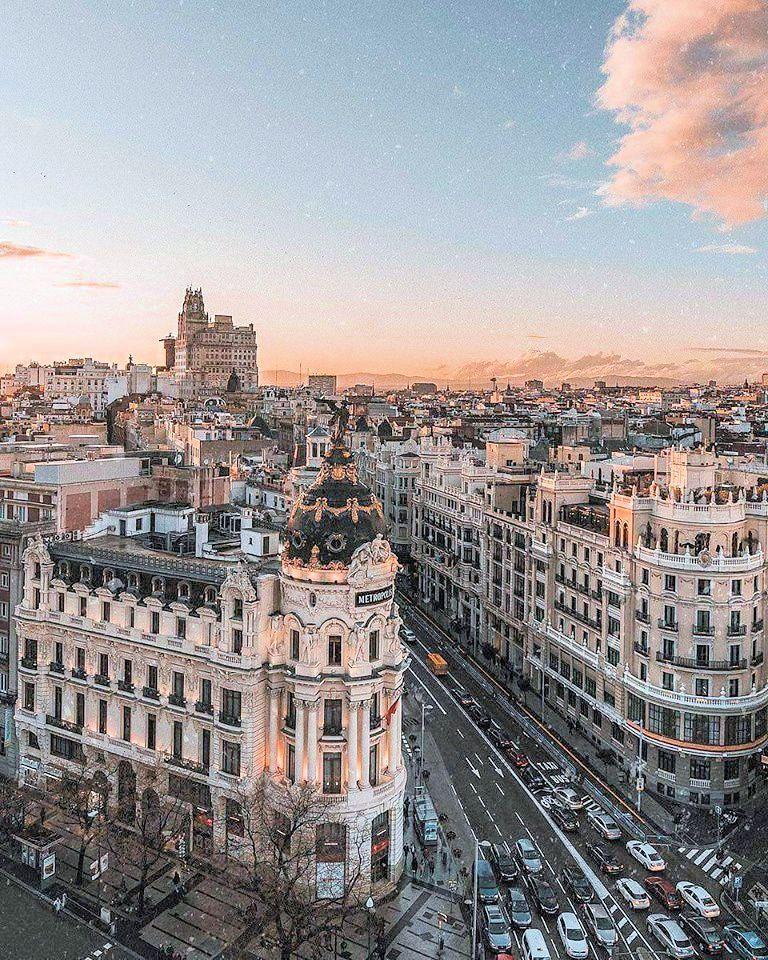 Madrid Spain In 2019 City Aesthetic Travel Aesthetic