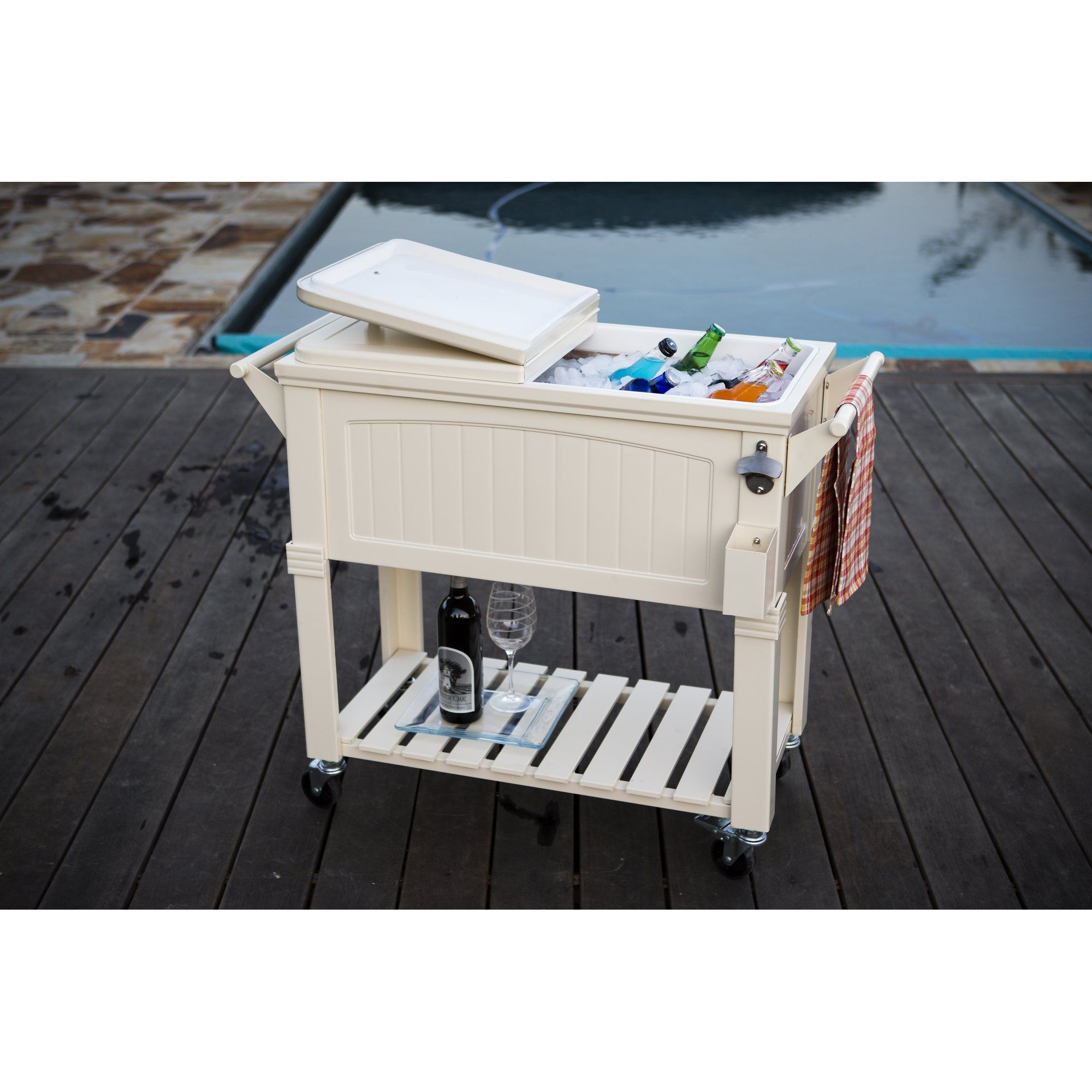 Outdoor Coolers and Ice Chests Beachfront Decor
