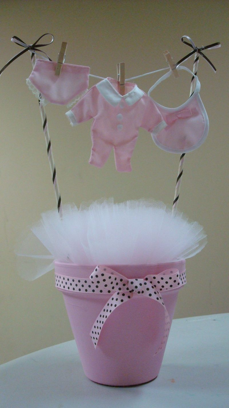Baby Shower Clothesline Decoration Centerpiece Baby Shower