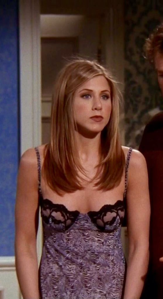 Jennifer Aniston In Lingerie On Friends Jennifer Aniston