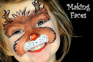 rudolf maquillaje infantil