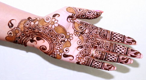 Easy Mehndi Tutorial : Simple and easy mehndi designs for beginners with images