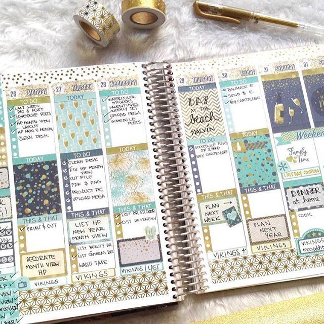 And this is how my last week of January looks like #afterthepen . . #plannerlife #plannerlove #erincondrenlove #printablestickers #planwithme #plannerspread #plannerlayout #plannerlove #planneraddict #plannercommunity  #planningtime #weeklylayout #weeklyspread #plannergirl #plannersticker #plannerdecoration