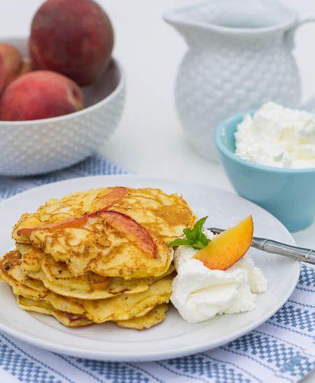 Nektarinen Pancakes